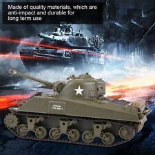 Henglong 2.4G US M4A3 SHERMAN 3841-01 Infrared Radio Control Battle RC Tank R/C