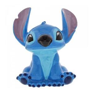 Disney Enchanting Stitch Experiment 626 Money Bank Ceramic Savings Pot Ornament