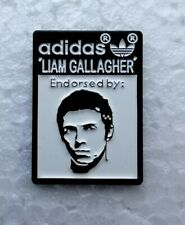 Adidas Spezial LIAM GALLAGHER Pin Badge Oasis Beady Eye Football Casual SPZL