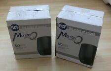 RCF MQ 60H 2 Way Wall Mount Speaker 60 watts - White 2 X BOXED OLD STOCK.