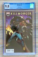 Killmonger 1. CGC 9.8. (1 of 7!) WP. 1:50 Stroman Variant. Black Panther. 2019.