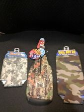 Bottle & Can Insulators Can Cozzys Camo Lot of 3 New