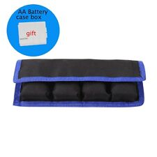 Nylon Carry Case Holder Storage Bag 4 Pouch For LP-E6/8/NP-FW50/EN-EL14 Battery