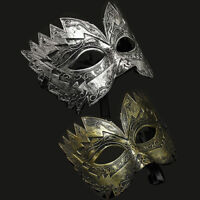 KE_ Halloween Costume Fancy Party Roman Gladiator Masked Ball Masquerade Eye M