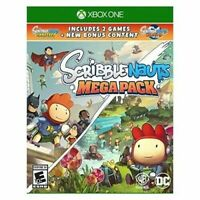 Scribblenauts Mega Pack Xbox One Video Game Brand New Factory Sealed