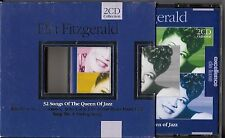 COFFRET 2 CD 34 TITRES ELLA FITZGERALD THE QUEEN OF JAZZ 2001 EXCELLENCE DE LUXE