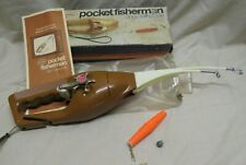 VINTAGE POPEIL'S POCKET FISHERMAN SPIN CASTING OUTFIT IN ORIGINAL BOX 1972