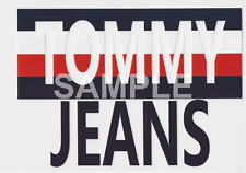 Tommy Jeans vinyl iron on transfer (choice of 1)