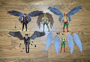 Hawkman Hawkgirl Angel Wings Action Figure Custom Lot DCEU TV DCUC 1/12 scale