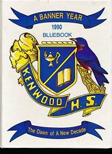 Baltimore MD Kenwood High School yearbook 1990 Maryland