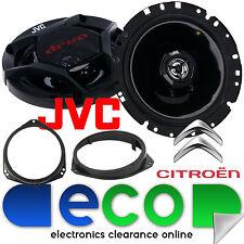 Citroen Relay Van 2006 On JVC 17cm 600 Watts a Pair Front Door Car Speakers Kit