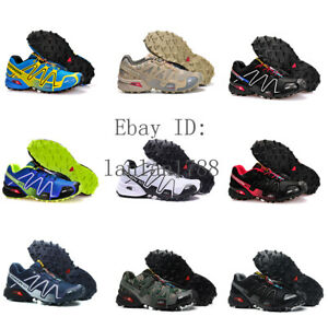 Salomon Speedcross 3 Men's Outdoor Running Shoes Trainers Athletic Hiking Shoes