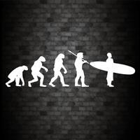 EVOLUTION SURFER Sticker Funny Car JDM DUB Van Window Bumper Novelty Vinyl Decal