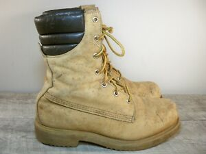 Vintage Red Wing Irish Setter Wheat Men's Work Hunting Insulated Boots Size 8.5