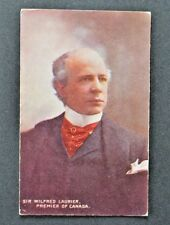 Sir Wilfrid Laurier - Prime Minister - Premier of Canada - Postcard - Canadian