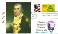 CHARLES C. PINCKNEY NATIONAL HISTORIC SITE: Colonial & Revolutionary War Figure