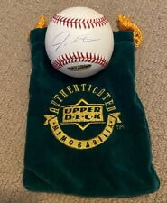 JOSH HAMILTON AUTOGRAPHED BASEBALL (UPPER DECK AUTHENTICATED)