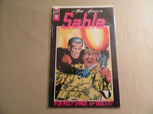 Sable #6 (First Comics 1990) Free Domestic Shipping