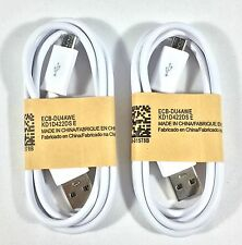 2 Premium Micro USB Sync Charger Cable Cord for Android Smart Phone