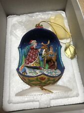 2007 Jim Shore Annual Ornament Up On The Rooftop *Danbury Mint*
