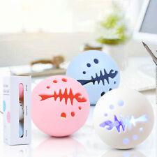 3Pcs Cat Toy Fish Bone Balls Cats Peppermint Bell Glow Pet tease Cat Ball Ras