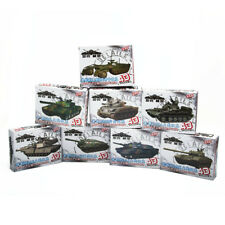 4D 1/72 8pcs Assemble Tank 4D Tank Plastic Model Kit The First Shot