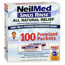 Neilmed Sinus Rinse Premixed Packets 120 each
