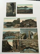 Vintage Early Postcard - Valentines - 8 Cards From The Series - Giants Causeway