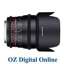 New Samyang 50mm T/1.5 AS UMC CINE 50 T1.5 Lens for Canon 1 Yr Au Wty