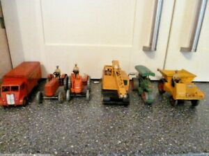 6 VINTAGE DINKY VEHICLES