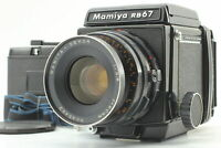 [Exc+4] Mamiya RB67 Pro + Sekor 90mm f/3.8 120 Film back x2 Strap From JAPAN