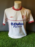 Shelbourne Umbro Football Shirt Owen Heary Signed/Matchworn(?) 2001/02 Away S