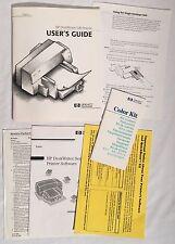 Vintage HP Hewlett Packard DeskWriter 540 Printer Manual Documentation Macintosh