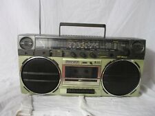 Sanyo Boombox Retro 80's Street Party Sanyo Radio Tape Player Gf-6565e Quality