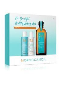 Moroccan Oil Repair 70ml Shampoo + 70ml Conditioner + 100ml Treatment Brand New