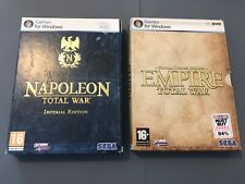 Pc Games- Napoleon Total War And Empire Total War