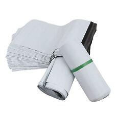 100 White 12x16 32x44cm Plastic Mailing Premium Quality Postal Poly Postage Bags