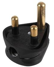 230 voltios 3 Pin 15 Amp Redondo Clavija Barco Tienda Casa (paquete plano suministrado) 15A