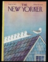 The New Yorker COVER ONLY September 11 1971 | Cover By: Charles E. Martin Birds