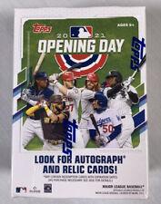 Topps 2021 Opening Day Baseball Trading Cards Blaster Box - 11 Pack