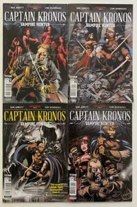 Captain Kronos Vampire hunter #1 to #4 complete series (Titan 2017) VF+/- issues