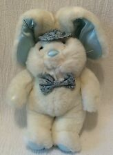 Vintage Plush 1988 Commonwealth Toy White Bunny Rabbit Dayton Hudson Target