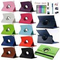 For Samsung Galaxy Tab A S5e 10.5 8.0 10.1 2019 360 Rotate PU Leather Cover Case