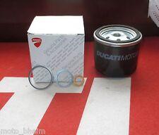 Ducati Original Filtre à huile avec joint d'étanchéité NEUF Genuine Oil Filter with Verrouillage Bague