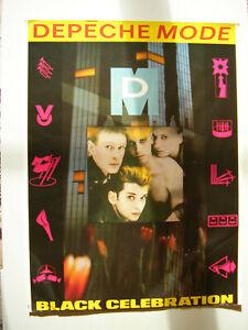Depeche Mode 1986er Tour Plakat in der Größe 80 x 60 - leider mit Stockflecken