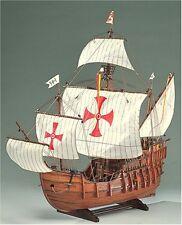 Woody JOE 1/45 Wooden Ship Model Kit Santa Maria Brand New Laser Cut Parts