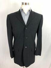 D&G DOLCE GABBANA Charcoal Grey Suit Jacket Gray Blazer Sport Coat US 40 50 EUR