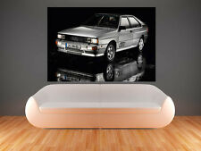 A0 AUDI 1980 QUATTRO SPORT RALLY CAR IMAGE LARGE   GIANT POSTER PRINT ART