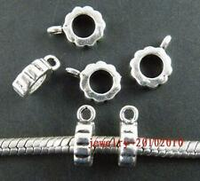 150pcs Tibetan Silver Beautiful Circle Bails 11x3.5mm 11515