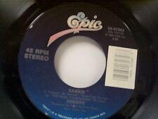 "EUROPE ""CARRIE / LOVE CHASER"" 45 MINT"